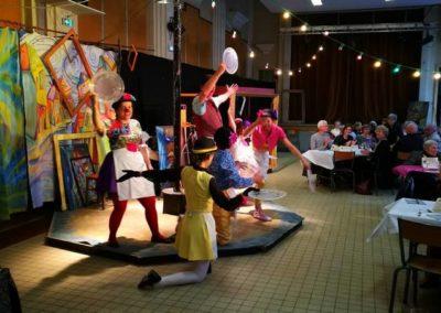 Spectacle de clowns de la Compagnie du Bout du Nez